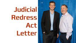 Judicial Redress Act Letter Post