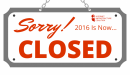 2016 is now closed