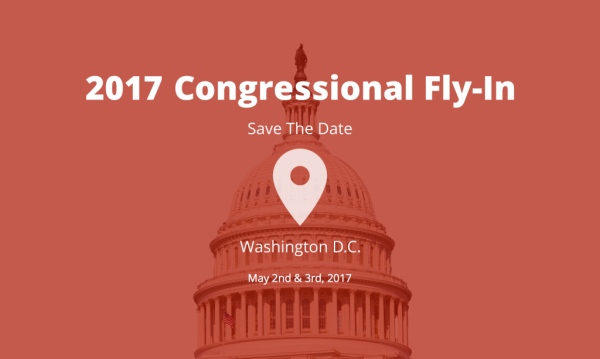 The award will be delivered at a ceremony on May 3rd in Washington, D.C., during the closing ceremonies i2Coalition's yearly Washington, D.C. Fly-In.