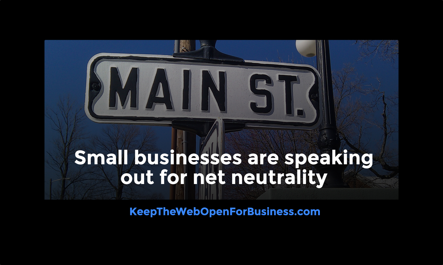 Small Business Net Neutrality Post
