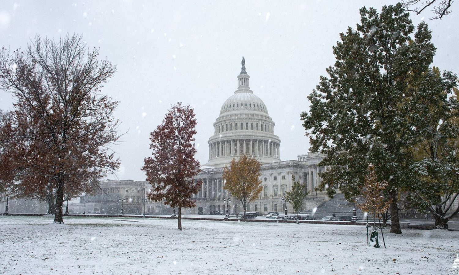 US_Capitol_Building_Congress_Winter_Snow