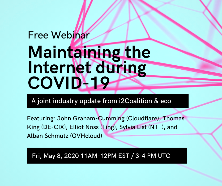 Colorful Covid-19 Learning Initiatives Webinar Announcements Facebook Post
